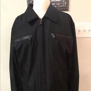 Michael Kors Men's Zip Front Black jacket M